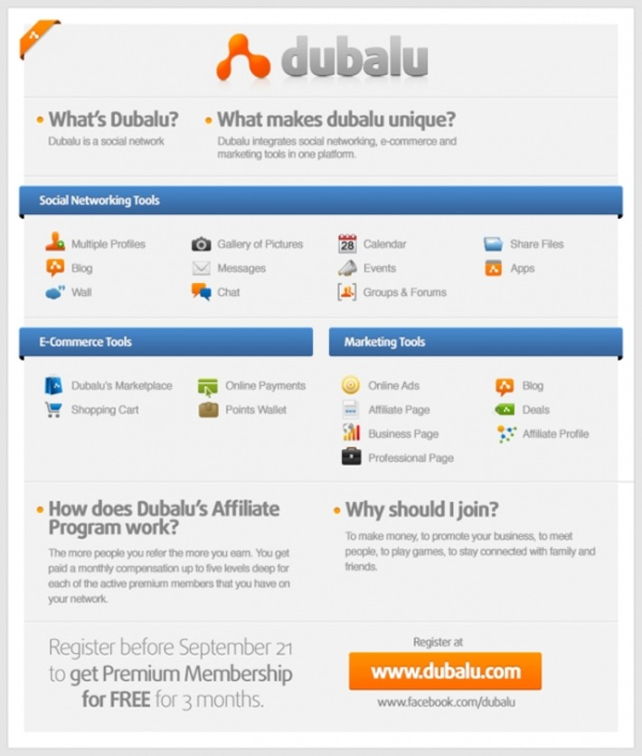 Meet Dubalu! A Social Network with E-Commerce and Marketing Tools to help you Promote your Business | Social Media Tips | Scoop.it