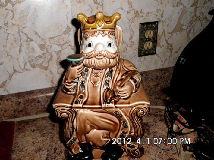 "Vintage ""Old King Cole"" Cookie Jar JAPAN | Antiques & Vintage Collectibles | Scoop.it"