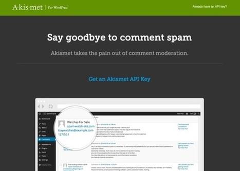 Akismet : Le remède contre les commentaires indésirables | Worpress & co | Scoop.it