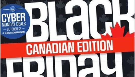 Sears Black Friday 2015 Ad for Canada's October Black Friday Sale Arrived - I4U News | Black Friday | Scoop.it