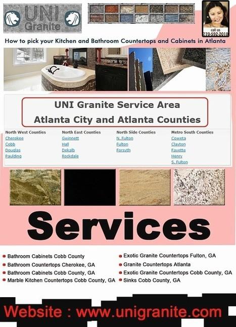 Classic Granite Fulton, GA | Unigranite.com | Scoop.it