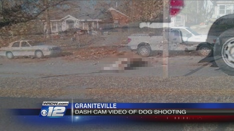 Dashcam video released of fatal dog shooting | Dogs Shot by Police | Scoop.it