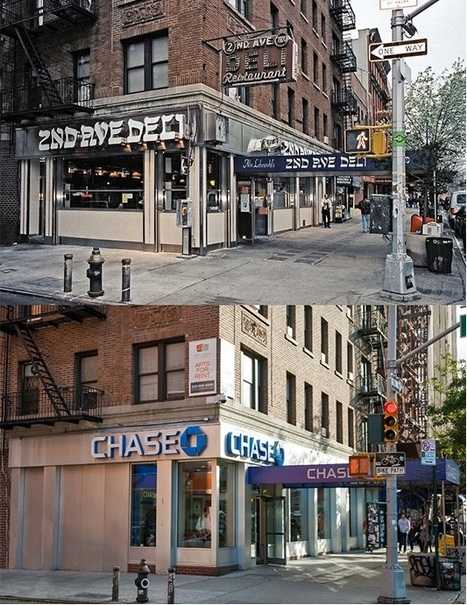 New York City's Disappearing Mom-and-Pop Storefronts | geo | Scoop.it