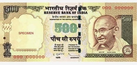 How to Find Rs.500 Note Real or Fake ? | TheAPNews | Scoop.it
