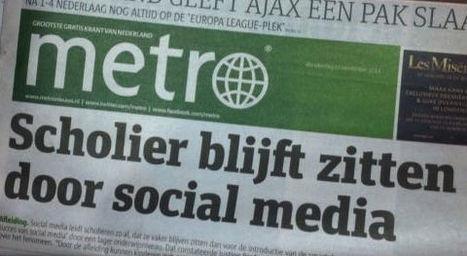 Niet meer zittenblijvers door social media. Of toch wel? | Sargasso | Sociale media in het lager onderwijs | Scoop.it