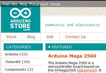 Arduino Store Opens For Beta Testers | Arduino | Scoop.it