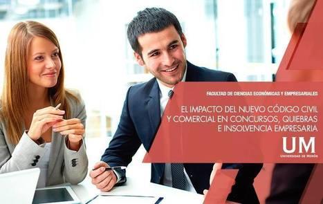 El Impacto del Nuevo C&oacute;digo Civil y Comercial en Concursos, Quiebras e Insolvencia Empresaria.<br/>Inicio: Jueves 20 de Octubre a las 18<br/>Lugar: Aula 400 &ndash; Edificio Central<br/>M&aacute;s informaci&oacute;n: http://bit.l... | Facultad de Ciencias Econ&oacute;micas y Empresariales - UM | Scoop.it
