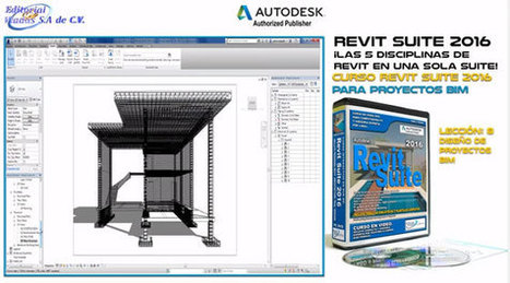 Revit Suite 2016 – An exclusive Revit BIM Course & Tutorial with lessons of 8 Project Design | BIM Forum | Scoop.it