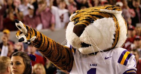 LSU halloween video features dancing Mike the Tiger mascot   Mascots   Scoop.it