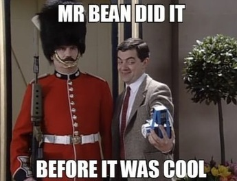 Mr Bean invented selfies | Anything Interesting! | Scoop.it