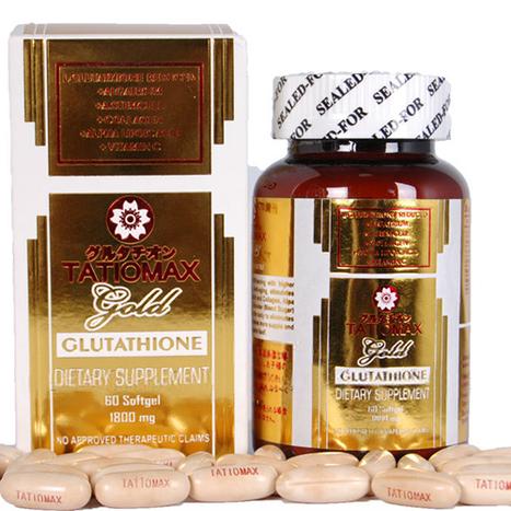 Viên uống trắng da Tatiomax Gold Glutathione | Sức khỏe và đời sống | Scoop.it