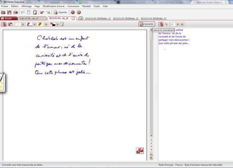 Stylo magique : écrivez à l'encre, récupérez un texte éditable ! | Choblab | Ca m'interpelle... | Scoop.it