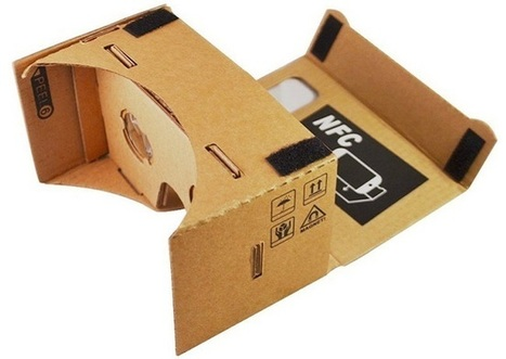 Google Cardboard: virtual reality at low cost | :: The 4th Era :: | Scoop.it