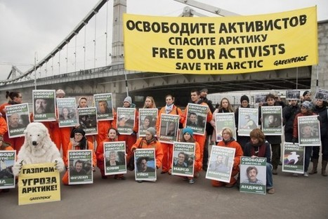 100 Days After Arrest For Protesting Offshore Drilling, Arctic 30 Released From Russia | Environment | Arctic 30 | Scoop.it