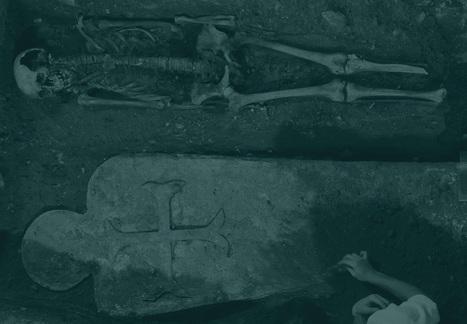 Dossier archéologie : L'archéologie de la mort | Inrap | Mort et Deuil | Scoop.it