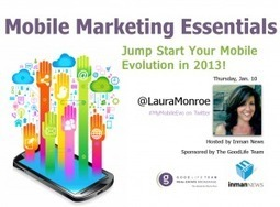 Jumpstart your mobile marketing evolution in 2013 [WEBINAR RECORDING] | marketing mobile | Scoop.it