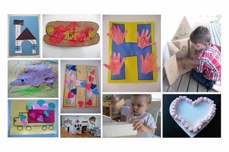 Letter H - Letter of the week activities and crafts | No Time For Flash Cards | Jardim de Infância | Scoop.it