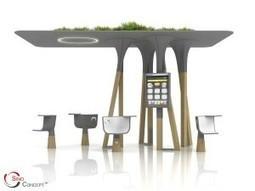 Un mobilier urbain de plus en plus intelligent ! | Urbanisme | Scoop.it