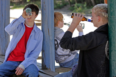Teen Drinking Study: Friends Play Key Role In Determining When ... | Gabrielle's Yr 9 Journal | Scoop.it