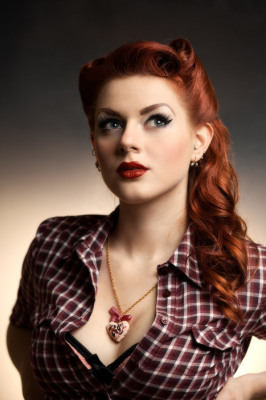 Greta Macabre Croatian Pin Up Girl & Model Answers Nine Questions For Sad Man'sTongue | Rockabilly | Scoop.it