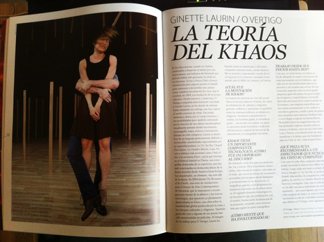 Ginette Laurin - Khaos | Festival Internacional Madrid en Danza 2012 | Scoop.it