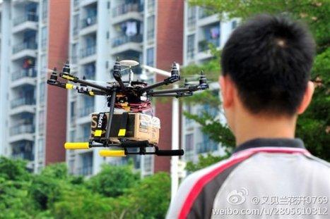 China : un drone commercial qui livre votre colis | Seb | Scoop.it