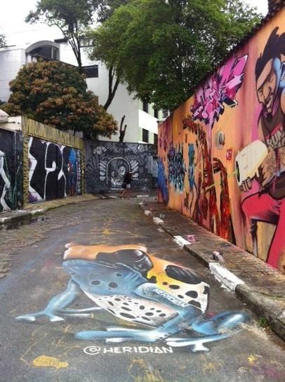 Street Art à Sao Paulo, Mecque du Brésil – Buenos Viajes | Street Art | Scoop.it