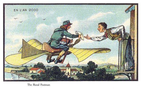 Comment voyait-on l'an 2000 en 1900 ? La réponse en 11 dessins étonnants - WeDemain   Inspiration & Imagination   Scoop.it