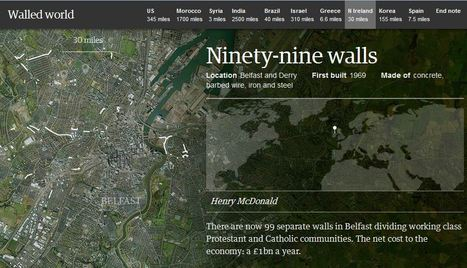 Walled World | AP HUMAN GEOGRAPHY DIGITAL  STUDY: MIKE BUSARELLO | Scoop.it