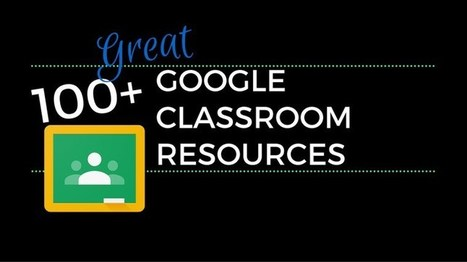 100+ Great Google Classroom Resources for Educators | Ed World | Scoop.it
