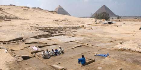 Ruins Near Giza Pyramids Reveal Luxurious Lifestyle Of Ancient Egypt's Elites - Huffington Post | Ancient world crimes | Scoop.it