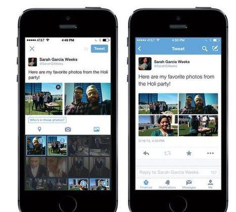 Twitter anuncia la posibilidad de etiquetar personas en fotos e incluir hasta 4 fotos en un tweet   Herramientas Web 2.0   Scoop.it