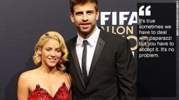 Shakira and Pique celebrate second pregnancy with UNICEF | News | Scoop.it