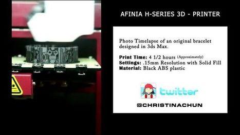 ❧ Phenomenal 3D printing | ǝʃqıssodɯı ǝɥʇ ɟo uɐɟ | Afinia | Scoop.it