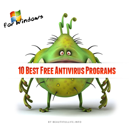 10 Best Free Antivirus Programs for Windows | Technology and Gadgets | Scoop.it