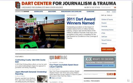 Dart Center for Journalism & Trauma | Top sites for journalists | Scoop.it