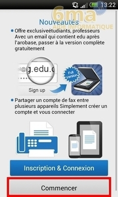 CamScanner : Comment scanner un document avec son Android ? | 6ma.fr | tony2306 | Scoop.it