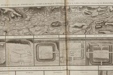 William Roy's 'Military Antiquities of the Romans in North Britain' (1793) Online | Archaeology News | Scoop.it