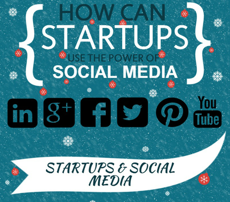 How Can Startups Use The Power Of Social Media (Infographic) - Business 2 Community | Competitive Edge | Scoop.it