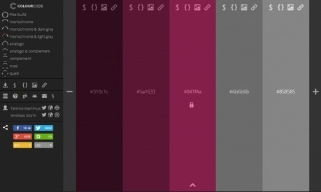 Colourcode : choisir un jeu de couleurs | TICE, Web 2.0, logiciels libres | Scoop.it
