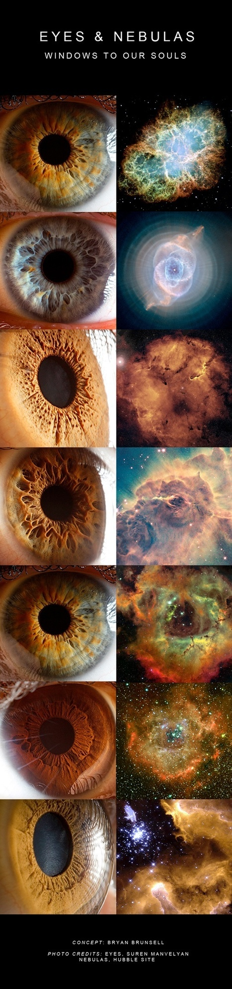 EYES & NEBULAS: Windows to our souls | cibered | Scoop.it