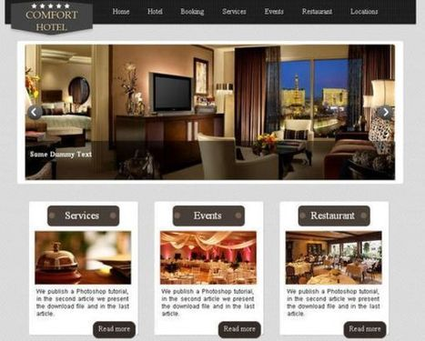 50 High Quality Free HTML5 And CSS3 Web Templates | Linguagem Virtual | Scoop.it