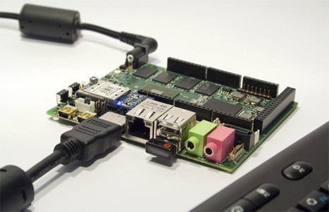 What do you get when you combine an Arduino and a Raspberry Pi? They named it UDOO. | Robotics and Automation | Scoop.it