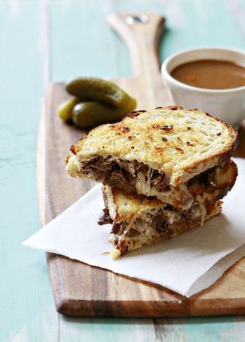 #Recipe - Slow Cooker French Dip Panini   Cook trends !   Scoop.it