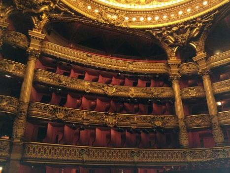 Découvrir le lieu - Palais Garnier - Visites | infos pêle-mêle | Scoop.it