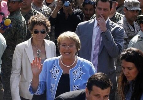 Michelle Bachelet verkozen tot nieuwe president van Chili   Nieuws voor 4havo - voorbeeldpagina   Scoop.it