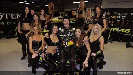 motogp.com · Valentino Rossi, Monster Girls, Monza Rally Show | Ductalk Ducati News | Scoop.it