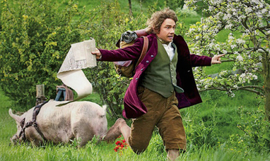 Two UK men are going on a real-life unexpected journey, dressed as hobbits | 'The Hobbit' Film | Scoop.it