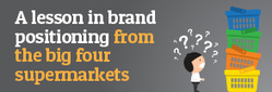 A lesson in supermarket brand positioning from the big four | CONFIDENCE IN MEDICINE: GETTING BACK TO THE BOOKS | Scoop.it