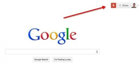 Move Over Search Box, Google's Home Page Gets A Share Box | The Inbounder | Scoop.it